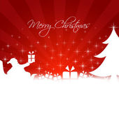 Frohe weihnachten-abbildung — Stockvektor