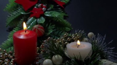 Xmas decoratie deel 2 — Stockvideo