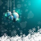 可爱的圣诞贺卡 — 图库照片