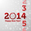 Counting 2014 — Stock Vector