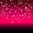 Modern vector background with colorful stars — Image vectorielle