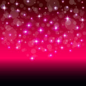 Modern vector background with colorful stars — Vector de stock