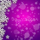Feliz Navidad tarjeta muestra — Vector de stock