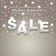 Holiday Sale background — Stock Vector #39374363