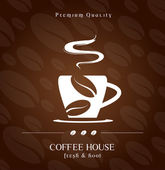 Coffee House cover — Stock Vector