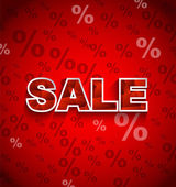 Försäljning rabatt bakgrund — Stockvektor