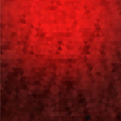Abstract red geometric background — Stock Vector