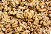 Walnut kernels pattern — Stock Photo