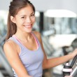 Fitness woman in gym - Foto de Stock