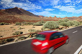 Araba güzel manzara — Stok fotoğraf