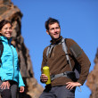 Young couple hiking — Stock Photo #22312185