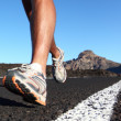 Running sport shoes — Foto de Stock