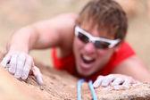 Climbing challenge — Stock Photo