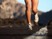 Sport running shoes — Stock Photo