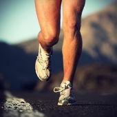 Sport en cours d'exécution — Photo