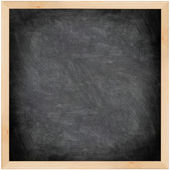 Chalkboard blackboard - black and square — Stock Photo