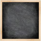 Chalkboard blackboard - black and square — Stock Photo