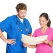 Medical nurses and doctors — Stock Photo #22918526