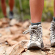 Hiking shoes — Stock Photo
