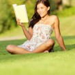 Woman reading book — Stock Photo #22919792