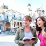 para turystów podróż w Hawanie, Kuba — Zdjęcie stockowe