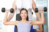 Gym fitness — Stock Photo