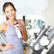 Stock Photo: Gym woman workout