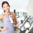 Gym woman workout — Stock Photo