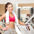 Fitness woman in gym — Stock Photo #22920764