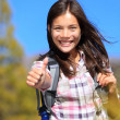 Hiking girl — Stock Photo #22922282