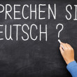 German Learning language - Stock Photo