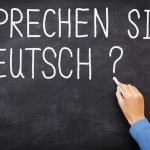 jazyk německý učení — Stock fotografie