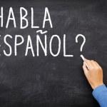 Spanish Learning language — Stock Photo