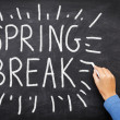 Spring break — Stock Photo