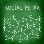 Social media — Stock Photo