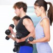 Fitness in gym — Stock Photo #22923276