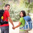 Hiking young couple — Stock Photo #22923746