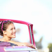 Car woman — Stock Photo