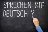 German Learning language — Stock Photo