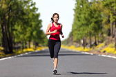 Sport fitness running woman — Stock Photo