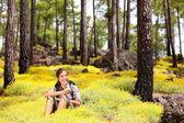 Spring hiking — Stock Photo