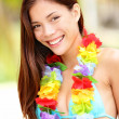 Summer Vacation woman happy - Stock Photo