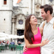 Stock Photo: Tourists - happy couple