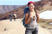 Retrato de excursionista — Foto de Stock