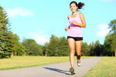 Sport fitness woman running — Stock Photo