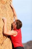 Climbing - Rock climber — Stock Photo