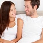 amante joven pareja enamorada — Foto de Stock