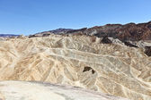 Death Valley Zabriskie Point landscape — Stock Photo