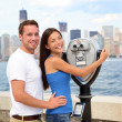 Tourists Couple - Tourism New York, USA — Stock Photo #26073139