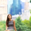 Young Asian Business woman in New York — Stock Photo #26073155